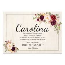 bridesmaid invitation bridesmaid invitations announcements zazzle au