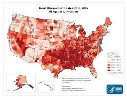 United States Map By Region by Quick Maps Of Heart Disease Stroke And Socio Economic Conditions