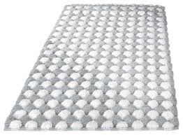 Cotton Bathroom Rugs Large Bath Mats Houzz