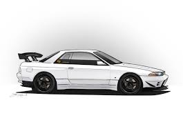 nissan skyline drawing outline nissan skyline gt r by jdmaero on deviantart