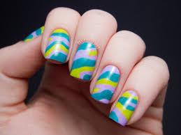 labarbara conrad u0027s pants print nail art chalkboard nails nail