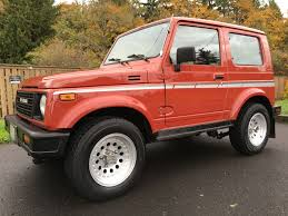 samurai jeep for sale rare hardtop 22k mile 1987 suzuki samurai bring a trailer