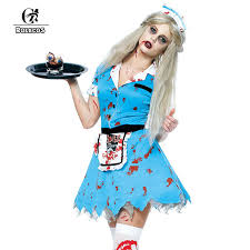 Zombie Halloween Costumes Adults Cheap Zombie Costumes Women Aliexpress