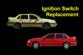 how to replace the ignition switch volvo 850 s70 v70 xc70