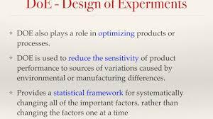 design of experiments 53 design of experiments v1 hocpmp com học luyện thi pmp youtube