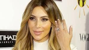 Kim Kardashian Wedding Ring by Kim Kardashian U0027s Tips To Keep Her Ring Clean Arabia Weddings