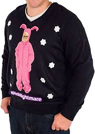 a story pink nightmare sweater