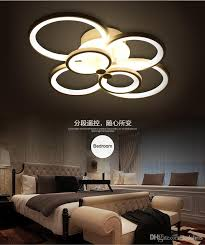 dimmable led ceiling lights 2016 new design remote control living room bedroom modern led