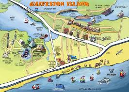 map of galveston image detail for galveston map digital