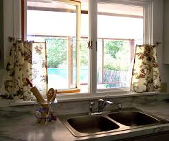 ideas for kitchen window treatments kitchen window curtains ideas kitchen window curtains floral