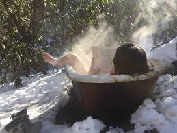 How To Make A Wooden Bath Tub by Wood Fired Bathtub The Foraging Family
