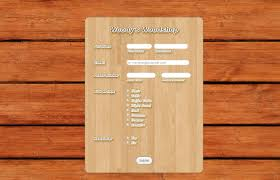 wood themes form theme store