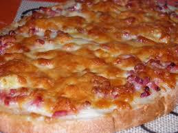 recette de cuisine facile et rapide pour le soir bruschettas façon flamenkuch la marmite en ébullition