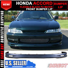 97 honda accord lights 96 97 honda accord mugen front bumper lip spoiler ebay