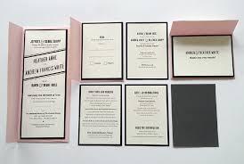 where to get wedding programs printed screen printed wedding invitation soft color pink cover vintage