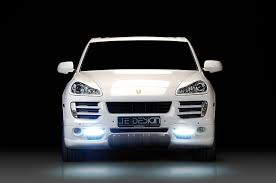 wallpapers porsche 2008 je design cayenne gts 957 white cars front