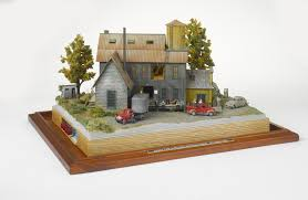 Diorama House Customer Built Kits And Their Comments