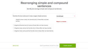 simple and compound sentences video khan academy