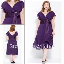plus size purple bridesmaid dresses plus size 2013 chiffon v neck cap sleeve eggplant