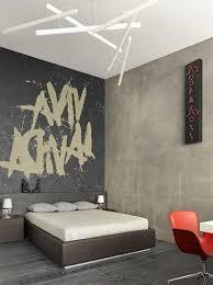 chambres et table d h es carrelage blanc gris foncé et table de chevet blanche carrée