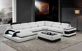 canapé coin grand coin canapé en cuir pour moderne sofa sectionnel canapé en