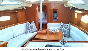 Boat Seat Upholstery Replacement Hunter Interior Cushions