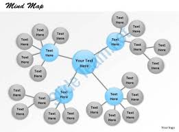 13230560 style hierarchy mind map 1 piece powerpoint template