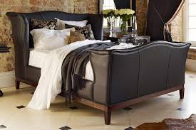 Emperor Size Bed Churchill Bed In Leather From King Size To Large Emperor And So