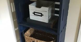 Wooden Crate Nightstand Furniture Nightstands In Woodwork Hometalk