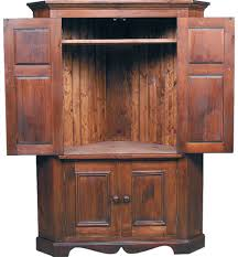 Black Armoire Corner Tv Armoire Open Doors Kate Madison Furniture