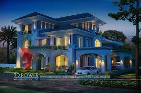 high class high class 3d modern bungalow designs 3d bungalow
