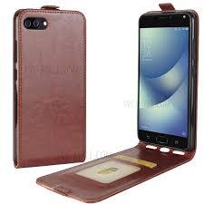 Zenfone 4 Max Vertical Leather Flip Cover For Asus Zenfone 4