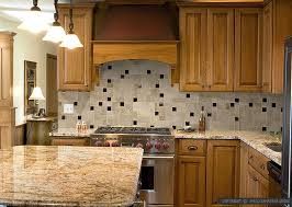 kitchen ideas with brown cabinets together with tile ideas for kitchen backsplash design project on