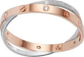 love bracelet rose gold images Love bracelets png