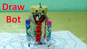 how to make an easy drawing robot for kids youtube