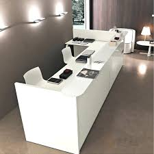 Salon Front Desk Furniture Front Reception Desk Furniture Front Desk With Pendant Lighting