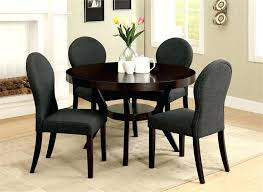 black round dining table set black round dining table with leaf modern round extending dining