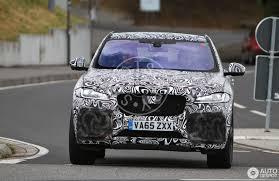 jaguar f pace grey jaguar f pace svr 14 july 2017 autogespot