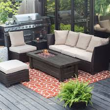 rectangle propane fire pit table rare propane fire pit tables luxury outdoor table gas