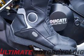 sport bike motorcycle boots gear test joe rocket ballistic touring boot review