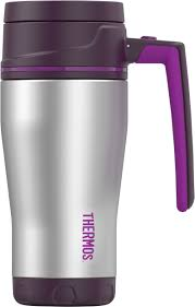 thermos element 5 stainless steel travel mug 470ml