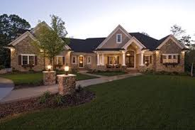 1 story homes craftsman style house plan 4 beds 3 5 baths 3313 sq ft plan 51