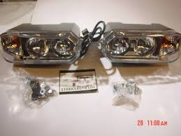 meyer snow plow replacement lights new style hiniker dual bulb snow plow light set 25013250 25013251