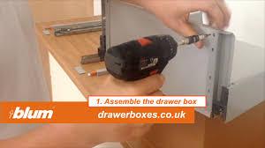 blum internal tandembox antaro deep kitchen drawer box 1 of 2