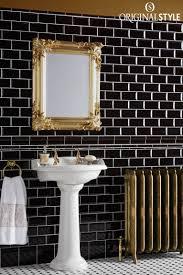 Blue And Black Bathroom Ideas Windsor Blue Albert Moulding Tile Mosaic Floors Wall Tiles And