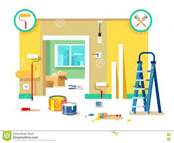 House Flat Design by Room Repair In Home Interior Renovation In Apartment And House