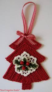 30 wonderful diy crochet christmas ornaments crochet tree