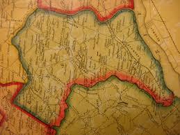 Bucks County Map Ancestor Tracks Philadelphia Area Resources