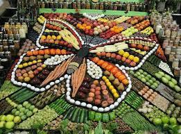 butterfly platter butterfly vegetable platter design stuff thats just plain cool