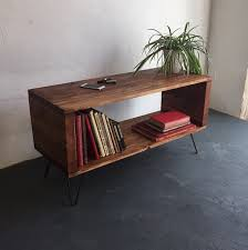 Lp Record Cabinet Furniture Large Rustic Industrial Record Player Vinyl Storage Cabinet